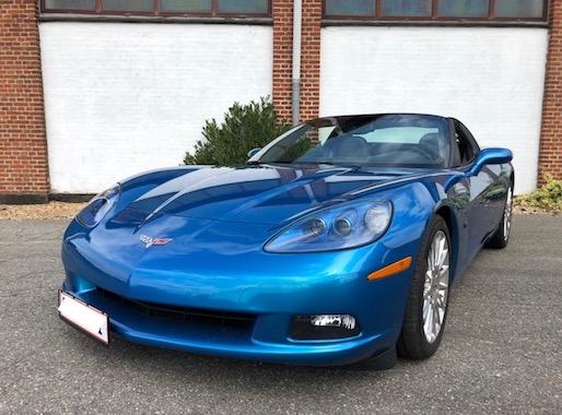 Corvette C6 6.2 Targa