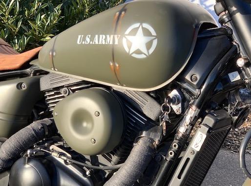 """Suzuki VZ850 """"US ARMY"""""""