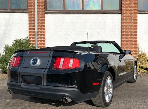 Ford Mustang GT 4,6 Cab.
