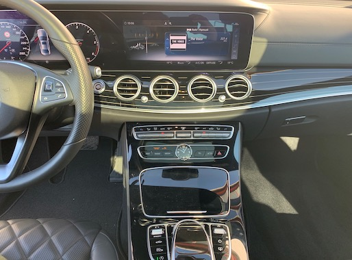 Mercedes E350d AMG