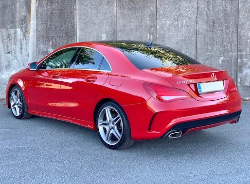 Mercedes CLA250 Coupé